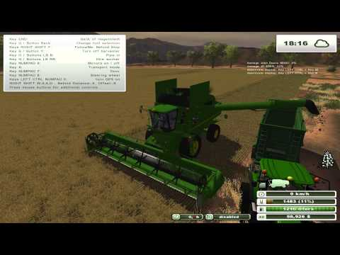 Farming Simulator 2013 SK John Deere a zatva s JD S690i High Definition 1080p 720p