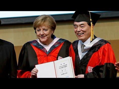 Στην Κίνα η Άνγκελα Μέρκελ