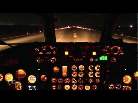 dc9 - https://twitter.com/noeaviacion Landing in Merida mexico filmed inside DC9 Cockpit.