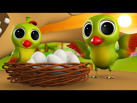 Tote Ka Anda 3D Animated Hindi Moral Stories for Kids - तोते का अंडा हिन्दी कहानी Tales Parrot Egg