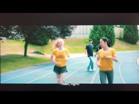 To All the Boys I've Loved Before (2018) - First Kiss/Track and Field Scene