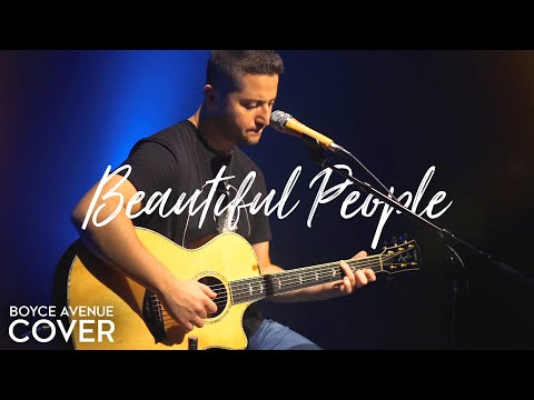 Beautiful People <br>Ed Sheeran Feat. Khalid Acoustic Cover [Feat. Gordo Bucket Drummer]<br><font color='#ED1C24'>BOYCE AVENUE</font>