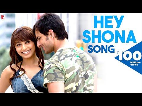 Video Hey Shona - Full Song | Ta Ra Rum Pum | Saif Ali Khan | Rani Mukerji | Shaan | Sunidhi Chauhan download in MP3, 3GP, MP4, WEBM, AVI, FLV January 2017