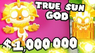 Bloons TD 6 - True Sun God - Tier 5 Super Monkey | JeromeASF