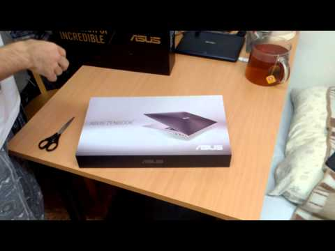 Asus UX303LN Unboxing