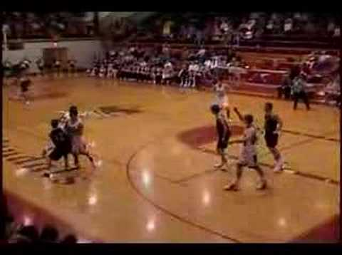 High School White Kid Monster Dunk!