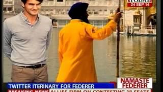 After signing with the Indian franchise of the International Premier Tennis League, tennis star Roger Federer shared his...