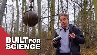 Making Artificial Earthquakes with a Four Tonne Steel Ball waptubes