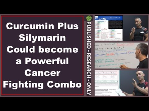 Curcumin Plus Silymarin Could become a Powerful Cancer Fighting Combo
