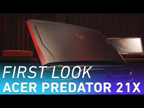 , title : 'Acer Predator 21 X: the first curved-screen laptop'