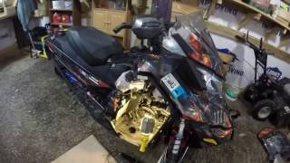 10. Ski doo How to Install Recoil starter Kit E-TEC/ REV/ XP/XS/ MXZ /TNT ETEC