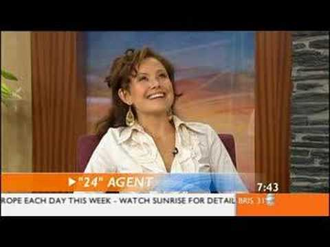 Reiko Aylesworth on Australian TV