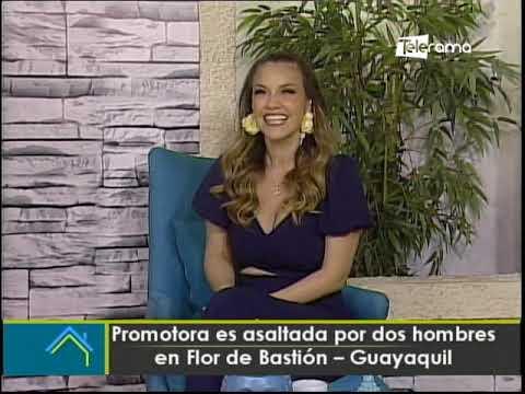 Promotora es asaltada por dos hombres en Flor de Bastión - Guayaquil