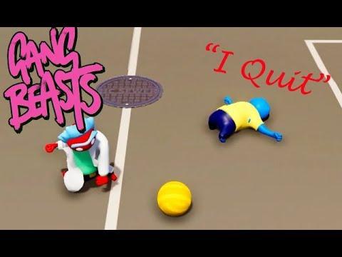 GANG BEASTS - Kyle Quits [Football]