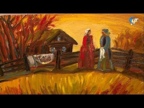 В Никольском Соборе открылась выставка петербуржской художницы Гели Писаревой