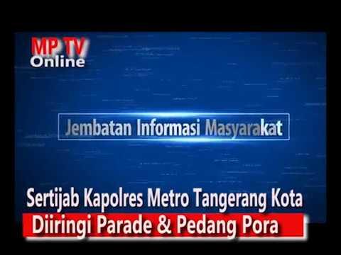 sertijab kapolres metro tangerang kota