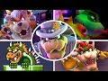 Evolution Of Bowser Battles In Mario Games 1985 2018