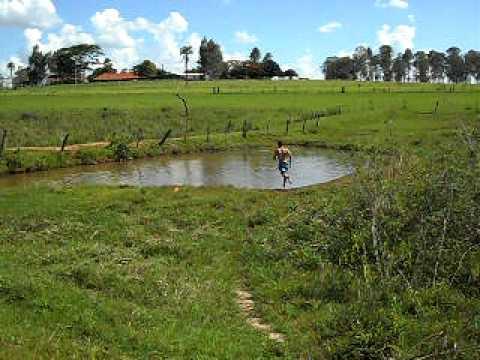 Andando sobre a agua- São João das Duas Pontes