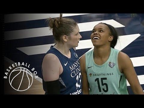 [WNBA] New York Liberty vs Minnesota Lynx, Full Game Highlights, July 24, 2018