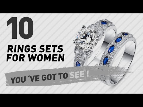Rings Sets For Women Top 10 Collection // UK New & Popular 2017