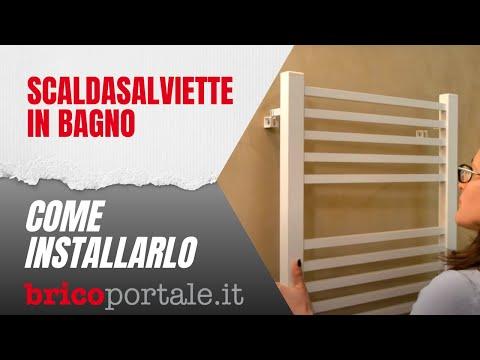Come installare lo scaldasalviette in bagno fai da te