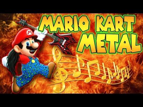 Mario Kart Metal Mario Kart 8 Music Video - Tryhardninja