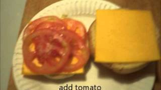 THE PERFECT GRILLED CHEESE AND TOMATO SANDWICH