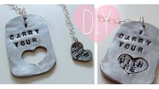 Valentine's 2014 Series: DIY Couples Jewelry - YouTube
