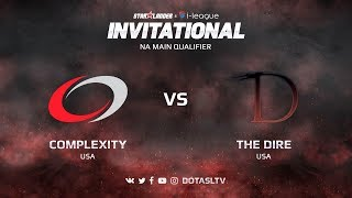 compLexity против The Dire, Вторая карта, NA квалификация SL i-League Invitational S3