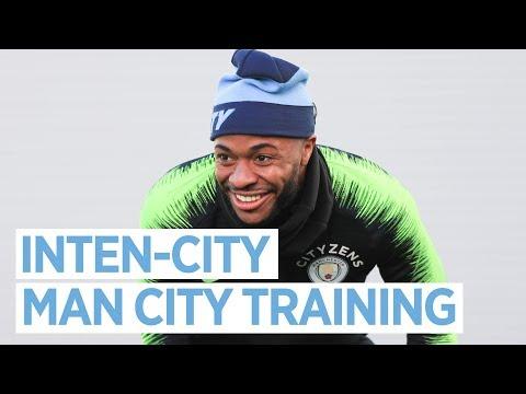 Video: INTEN-CITY AHEAD OF CHELSEA   TRAINING
