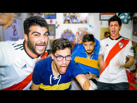 River 2 Boca 0   SEMIFINAL Copa Libertadores 2019   Reacciones de Amigos