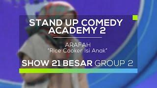 Video Arafah - Rice Cooker Isi Anak (SUCA 2 - 21 Besar Group 2) MP3, 3GP, MP4, WEBM, AVI, FLV Desember 2017