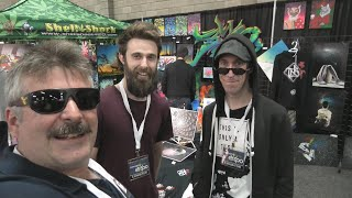 Edmonton Cannabis & Hemp Expo Ryan and Patrick Art by Urban Grower