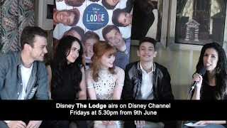 The Fan Carpet's Ellie Torrez spoke to Thomas Doherty, Bethan Wright, Mia Jenkins and Jayden Revri ahead of the release of season 2 of Disney The Lodge on Disney Channel on Friday June 9th at 5.30pm.Watch the full interview with Sophie Simnett, Luke Newton and Josh Sinclair-Evans here: https://youtu.be/Oxf0Z69PHpI