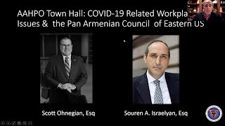 COVID-19 Related Workplace Issues and the Pan Armenian Council of Eastern US
