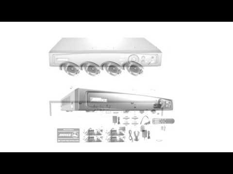 Annke 1080P HD TVI H 264+ DVR Video Security System 4CH 1080P DVR with 4x HD 1920TVL 2 1 MegaPixels
