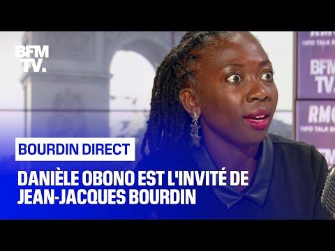 Danièle Obono face à Jean-Jacques Bourdin en direct