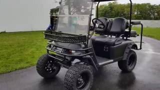 1. Ez Go TXT 48 Volt Golf Cart Hunter Edition - Fully Loaded