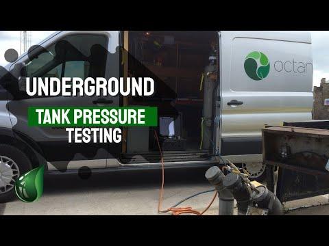 Underground Tank Pressure Testing by Octane