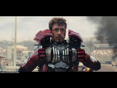 Iron Man vs  Whiplash ''Monaco Fight''   Iron Man 2 2010 Movie Clip Blu ray 2K