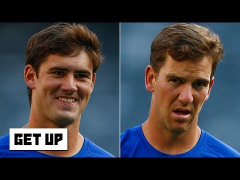 Video: Daniel Jones is ready to replace Eli Manning as the Giants' starting QB - Ryan Clark   Get Up