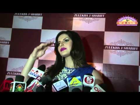 Zarine Khan Launched Zule Khan Collection