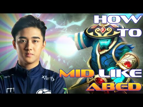 How Abed plays MID as Rank 1   Dota 2 Pro Analysis by 1437