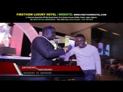 KATE HENSHAW WAS KISSED LIVE ON STAGE AT AKPORORO VS AKPOROROFULL SHOW2016