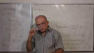 Algebra Intermedia - Lección 41 - A (ecuación Que Se Convierte En Cuadrática O De Tipo Cuadrático)