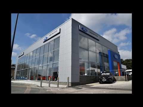 Time lapse video - glass units installed at Haynes Ford Showroom in Maidstone