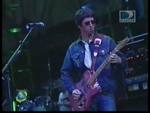 Oasis - Oasis Concert at Rock in Rio 2001. 14/01/2001 http://www. mediafire .com/?37xz59cbmrt59tu here is the bootleg Set: Fuckin in the Bushes Go Let it Out Who Fee...
