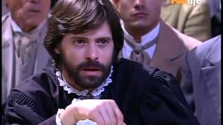 Começa a audiência de Lúcia e Cunha. Lúcia conta como conheceu Cunha ao Juíz. Aurélia é liberada do convento. Lúcia cita Lemos no depoimento.