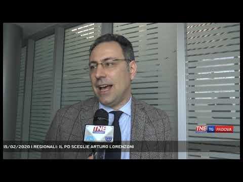 15/02/2020 | REGIONALI: IL PD SCEGLIE ARTURO LORENZONI