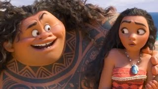Moana - Mauis Song | official FIRST LOOK clip (2016) Disney by Movie Maniacs